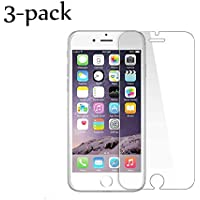 [3Pack] Screen Protector for iPhone 8 Plus/7 Plus/6 Plus,9H Hardness,Premium Anti-Glare,Anti-Fingerprint,3D Compatible 0.3mm Screen Protection (5.5Inch)