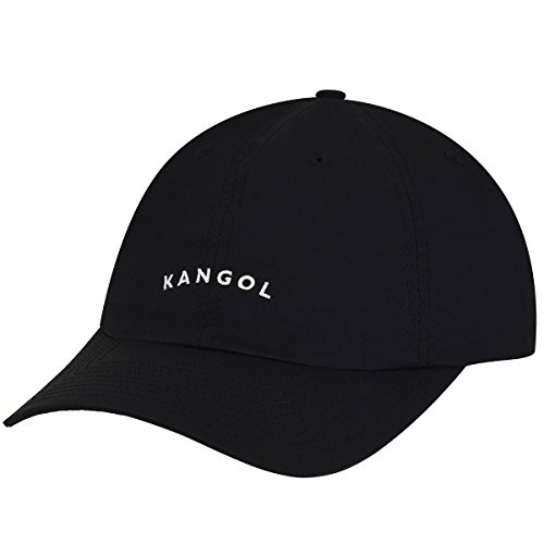 Kangol Men's Vintage Baseball Dad Cap, Black, 1SFM