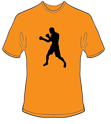 S.B.J - Sportland Schweres Qualitäts T-Shirt mit Motiv Boxing/Boxen