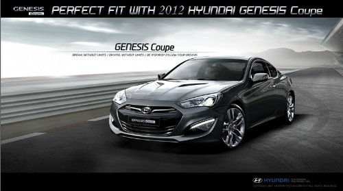 7pcs Reticulate 3D Genesis Wing Badge Emblem For Hyundai Genesis Coupe  Luck16888