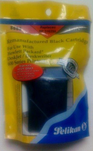 Nu Kote Remanufactured Inkjet (Pelikan S680 Remanufactured Black Cartridge)