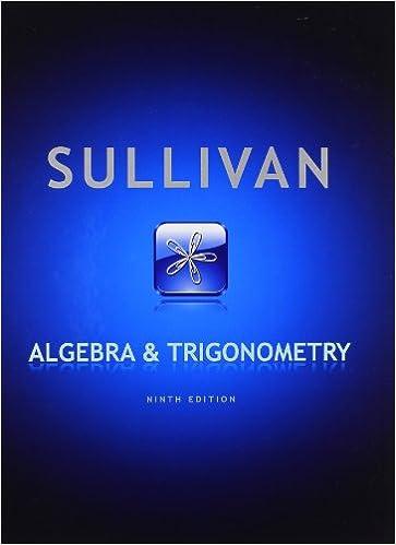 Algebra and trigonometry 9th edition michael sullivan algebra and trigonometry 9th edition michael sullivan 9780321716569 amazon books fandeluxe Images