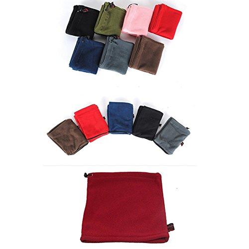 SBParts Multifunctional Outdoor Warm Unisex Fleece Sports Neckwear Winter Snood Scarf Ski Wear by SBParts (Image #3)