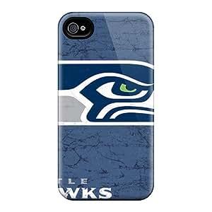 Anti-Scratch Hard Phone Case For Iphone 6plus With Provide Private Custom Fashion Seattle Seahawks Image LauraAdamicska