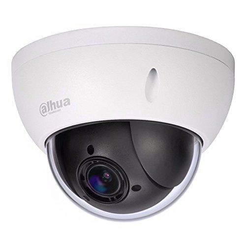 Vandal Ip Camera - Dahua SD22204T-GN HD PTZ Outdoor POE IP Camera Motorized Vandal Dome, Pan/Tilt/2.7mm~11mm 4x Motorized Zoom, 2-Megapixel,SD Card Recording,IP66 and IK10 Proof, ONVIF Network Camera(No Night Vision)
