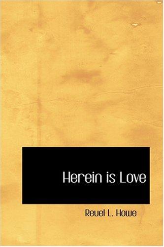 Download Herein is Love ebook