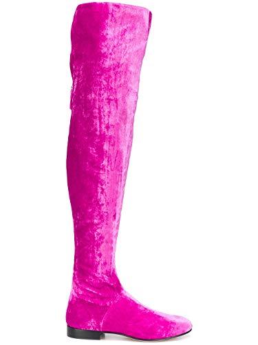 Alberta Bottes Femme Ferretti Fuchsia J62068203217 Velours rRZrqOXx
