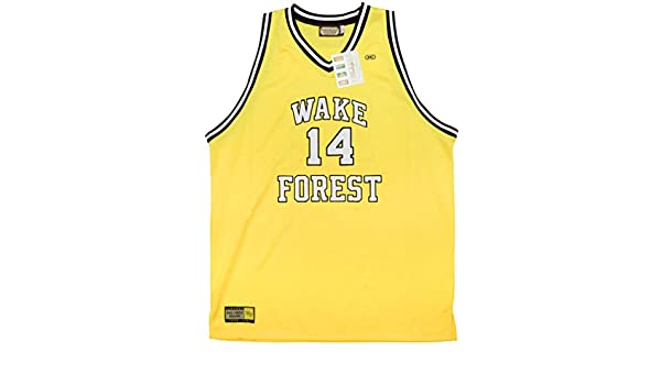 05f1e24afd4 Amazon.com  Rob sTees Muggsy Bogues Wake Forest University Demon Deacons  Authentic Throwback Jersey (5XL)  Clothing