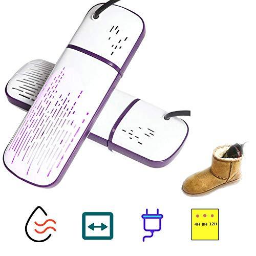 RSTJ-Sjsd Secador de Zapato eléctrico, Botas activas Calentador de Zapatos calienta con esterilización UV Desodorante...