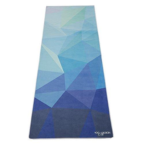 Luxury Sweat Grip Mat Towel: The Combo Yoga Mat. Luxurious, Non-slip, Mat/Towel