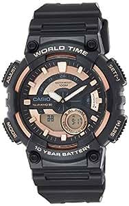Casio Casual Watch Analog-Digital Display For Men Aeq-110W-1A2Vdf