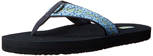 Teva Mush 2 W'S, Womens Thong Sandals Companera Blue