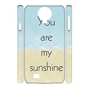 DIY 3D Phone Case for SamSung Galaxy S4 I9500 with You are my sunshine shsu_7645077 at SHSHU