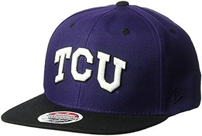 NCAA Tcu Horned Frogs Men's Z11 Snapback Hat, Adjustable Size, Team Color from Zephyr Graf-X