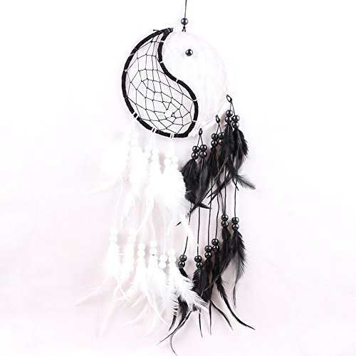 (PanDaDa Dream Catcher Handmade Traditional Yin Yang Approx 6