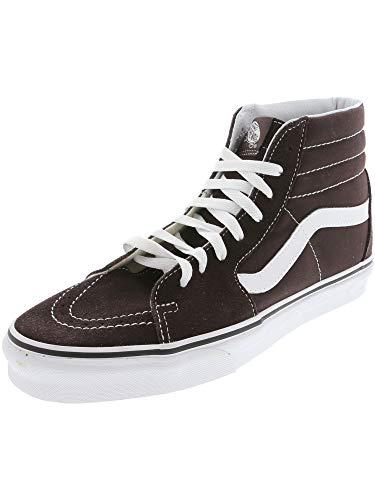 Vans SK8 Hi Chocolate Torte/True White Men's Classic Skate Shoes Size 9.5 ()