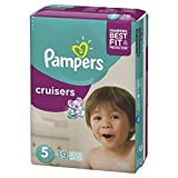 Pampers Cruisers Diapers Size 5, 19 ct