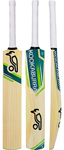 Cricket Bat Kahuna Prodigy 100 Kashmir Willow (Short Handle) - 2017 Kookaburra Model Bat - Medium Weight - Full Size Adult Cricket Bat