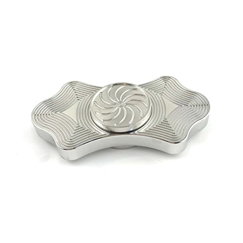 Price comparison product image Starss Lines Fidget Spinner Solid Stainless Steel Fast Detachable R188 Bearing High-end Gift