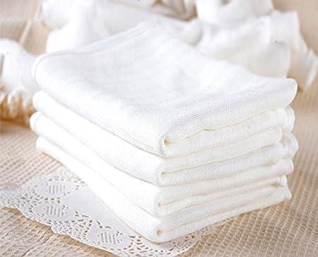 LOCOTECH - Pañales de gasa de algodón, 60 x 50 cm, lavables: Amazon.es: Hogar
