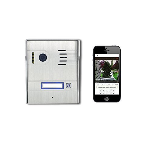 Rintercom IP Wireless Weatherproof Video Doorbell HD WI-FI Intercom System Night Vision (Internet Remote Intercom)
