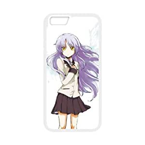 Anime Angel Beats iPhone 6 Plus 5.5 Inch Cell Phone Case White Personalized Phone Case LK5S99L65