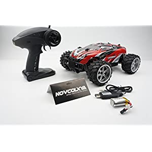 Novcolxya Model RC Car Electric Racing Car Fast RC Car 1/16 Scale Offroad 2.4Ghz Radio Remote control 2WD High Speed 10MPH RC Trucks Electric Off Road Remote Controlled