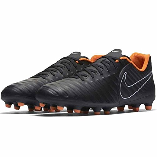Football Legend Nike Noir Orange Chaussures Club Fg Tiempo 7 nZxXvFg