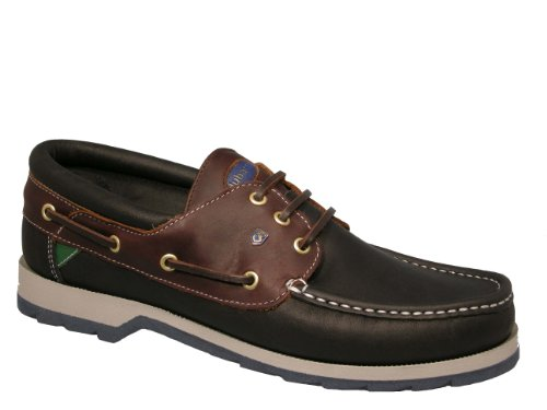 Dubarry Commander 382132F Navy/Brown Leather