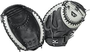 Mizuno Classic GXS32 Fastpitch Catcher's Mitt, Black , 34-Inch, Left Handed Throw