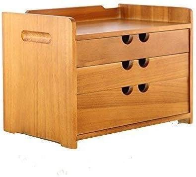 WXF Caja de Almacenamiento Joyas, Madera Multi-Capa Oficina Gaveta Varias Joyas de La Caja Retro Caja Almacenamiento (Size : 26x18x19.4cm): Amazon.es: Hogar