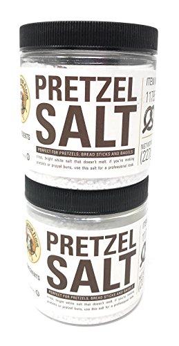 King Arthur Flour Pretzel Salt - 8 oz (Pack of 2) by King Arthur Flour