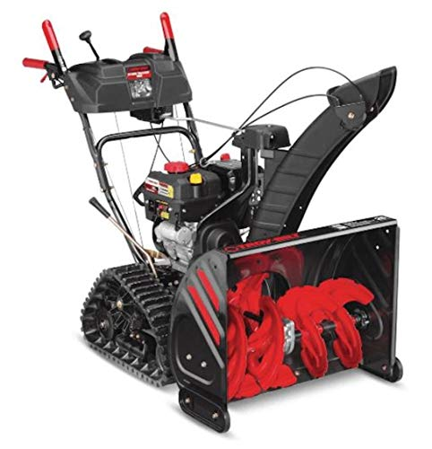 Troy-Bilt 26 in. 208 cc Two-Stage Gas Snow Blower with Electric Start and Track Drive and Electronic 4-Way Chute ()