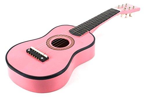 DirectlyCheap 6 String Acoustic Guitar, Pink (000-BT-GA2300-PK)
