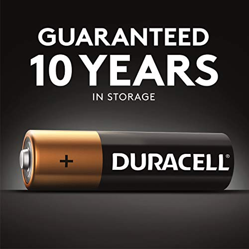 Duracell Procter & Gamble DURMN1500B4Z Alkaline General Purpose Battery, Black (12152), 4 Count