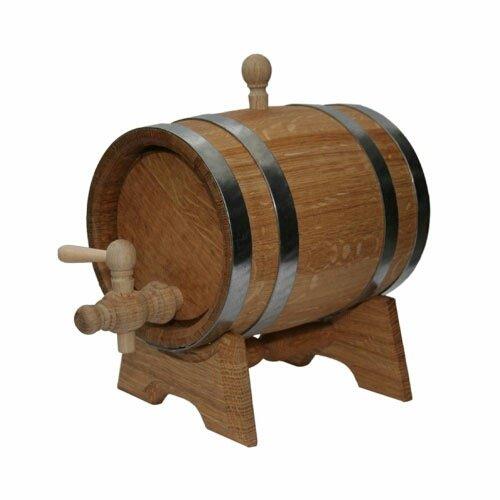 Eichenfass 5L Holz Schaft für Speicher oder Alterung Wein & Spirituosen
