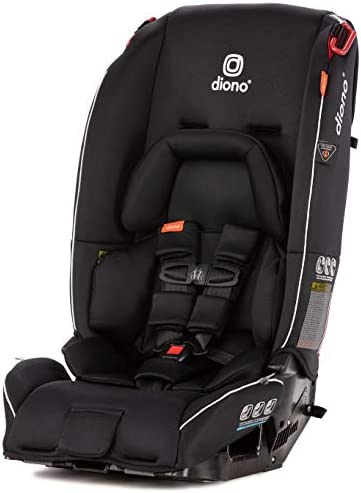 Diono Radian 3RX All-In-One Convertible Car Seat - Black