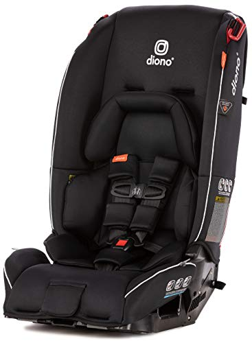 Diono Radian 3RX All-In-One Convertible Car Seat, From Birth to 54 kg (120 lbs), Black