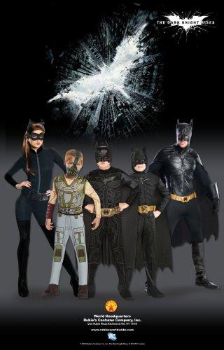 Batman Dark Knight Rises Child's Batman Costume with Mask and Cape - Small