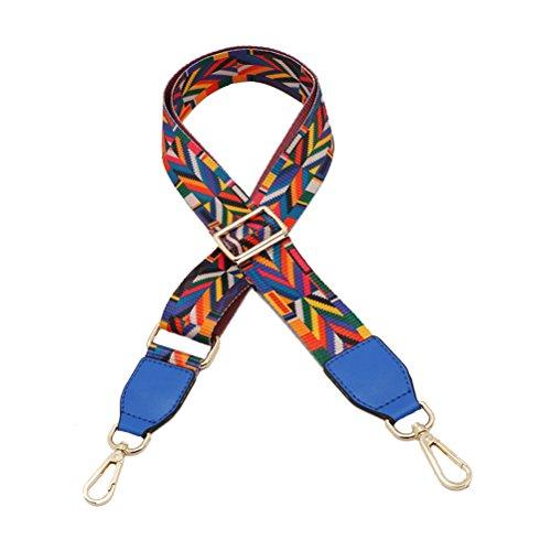 85cm Azul Bolsa Cinturón Mujeres Recambio Universal Desmontables Hombro Del Accesorios Correa Cinturón Bolso Ajustable de 135cm De Umily Hombro Para RxHTqT