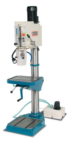 Baileigh DP-1500G 20″ Gear Head Drill Press, 3-Phase 220V, 3.5hp Motor, 1.5″ Capacity