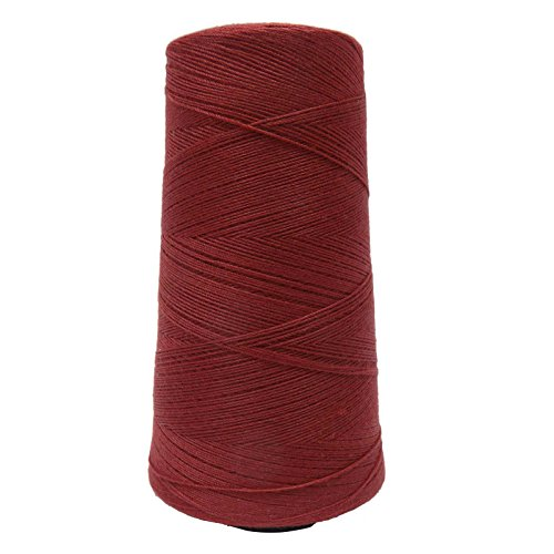 Overlocking Sewing Spool Hand Machine Polyester Maroon Tube Serger 1000 Meter Thread