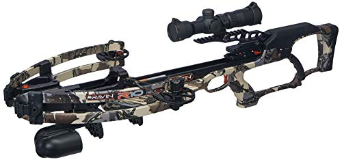 Ravin R10 Crossbow Package with Illuminated 1.5-5x32mm Scope, Predator Camouflage