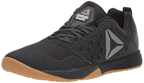 Reebok Women's CROSSFIT Nano 6.0 Cross Trainer, Black/Gum, 9 M US