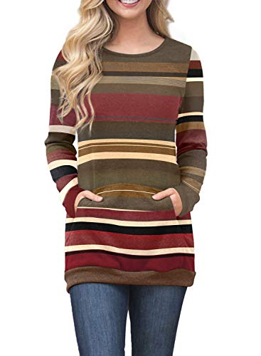 Spandex Striped Sweater - 1