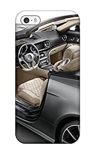 Hot 2012 Mercedesbenz Sl 65 Amg 45th Anniversary Interior Benz Th Cars Mercedes First Grade Tpu Phone Case For Iphone 5/5s Case Cover