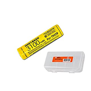 Nitecore imr 18650 3100 battery do it yourselfore nitecore imr 3100mah rechargeable 18650 10a batteries for nitecore concept 1 c1 ec23 solutioingenieria Images