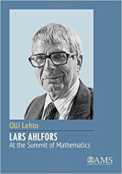 Book Lars Ahlfors - At the Summit of Mathematics