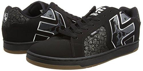 De 2 Homme Etnies Noir Blanc Skate Metal Gris 581 Mulisha noir Fader Chaussures ZwTqdOZ