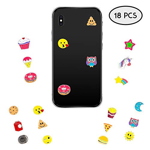 Decal Stickers for Laptop, iPhone, Computer, Car, Wall 18 PCs Pack - Metal Adhesive Decal Sticker Set for Women and Girls - Great as Party Favors, Stocking Stuffers ()